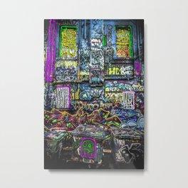 Art with street art Metal Print