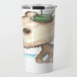 NORDIC ANIMAL - BOBO BEAR / ORIGINAL DANISH DESIGN bykazandholly  Travel Mug