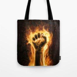 Fire fist Tote Bag