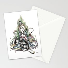 Tea Time is Over Stationery Cards
