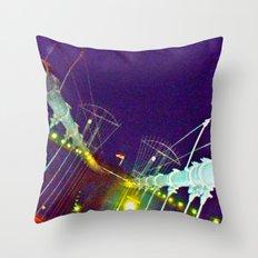 Bridge of Brooklyn Throw Pillow
