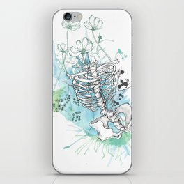 Ribcage in Colour iPhone Skin