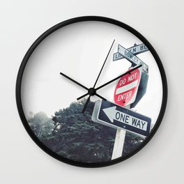 One way Wall Clock