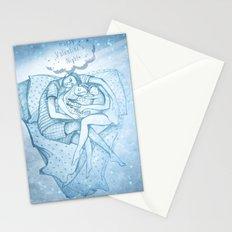 Happy Valentine's Night Stationery Cards