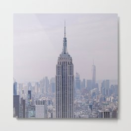 Empire State Building – New York City Metal Print