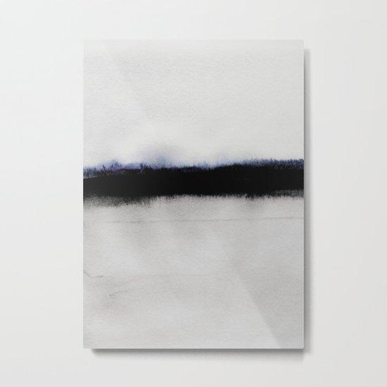 Simple Horizon Metal Print