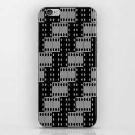 dark dominos iPhone Skin