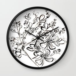 Rue - Herb of Grace Wall Clock