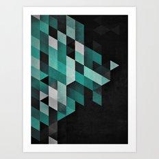 dryma mynt Art Print