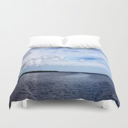 Lake Wimico Duvet Cover