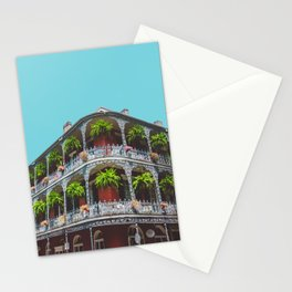 Hanging Baskets of Royal Street, New Orleans Stationery Cards