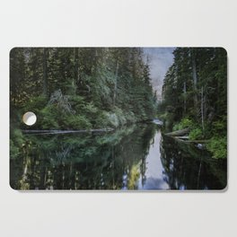 Spawning a River Cutting Board