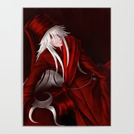 Undertaker in Red Poster