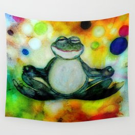 Peace Frog Wall Tapestry
