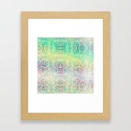 Happy Travelling Framed Art Print