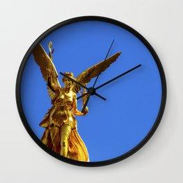 Angel of peace Munich Wall Clock