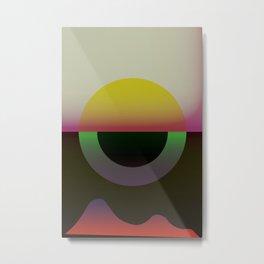 Solar Horizon Metal Print