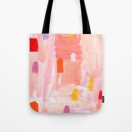 Put Sorrows In A Jar - abstract modern art minimal painting nursery Tote Bag