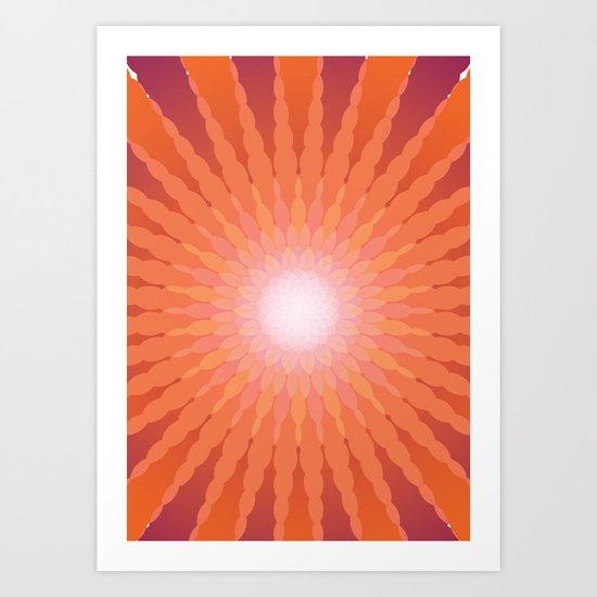 Spherical Pattern 1 Art Print