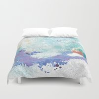 snail Duvet Covers featuring Snail by ARTION