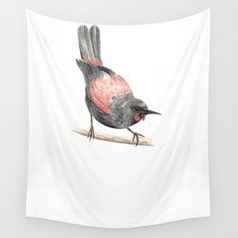 Tieke / Saddleback - a native New Zealand bird 2013 Wall Tapestry