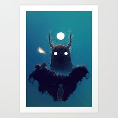 Lost Voices Art Print