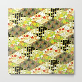 Trendy japanese pattern Metal Print