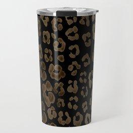 Dark Leopard Travel Mug