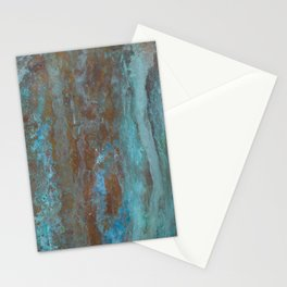 Patina Bronze rustic decor Stationery Cards