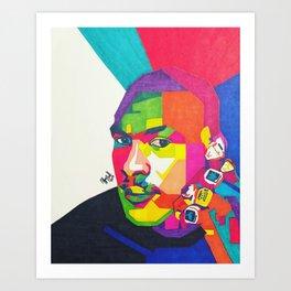 Jordan (6 rings) Art Print