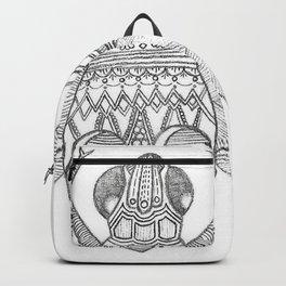 Patterned Bug Backpack