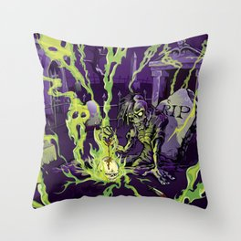 Grave Mistake Throw Pillow