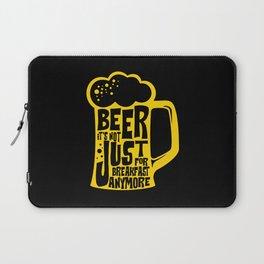 Beer breakfast Laptop Sleeve
