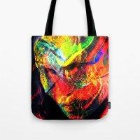 graffiti Tote Bags featuring Graffiti !! by shiva camille