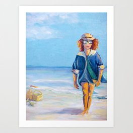 Up from the Sea Art Print