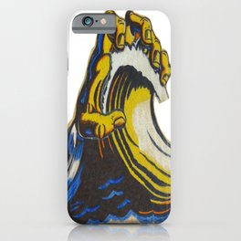 Santa Cruz Hand iPhone Case