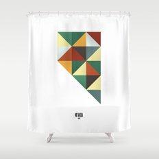 Geometric Nevada Shower Curtain