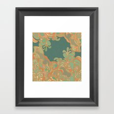 Turq Framed Art Print
