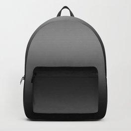 Black to Gray Horizontal Bilinear Gradient Backpack