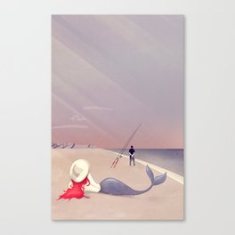 Keep Fishing Canvas Print