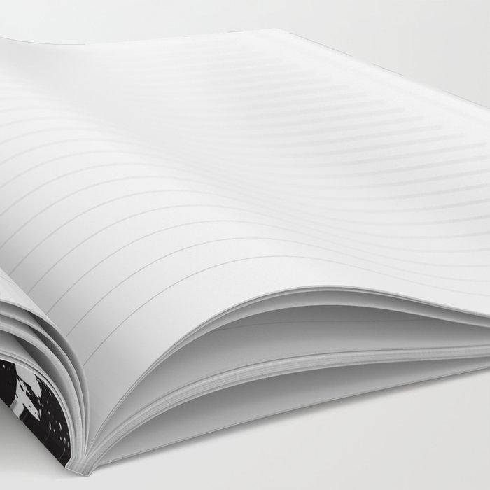 BLACK LINES Notebook