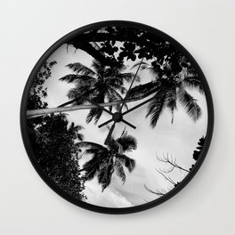 Third tree Wall Clock