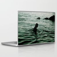 siren Laptop & iPad Skins featuring SIREN by Taryn Jayne