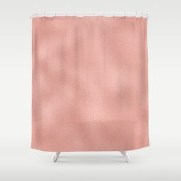 Rose gold - Touch of Rose Shower Curtain