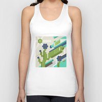 tequila Tank Tops featuring Tequila Party by Bakal Evgeny
