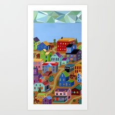 Tigertown Art Print