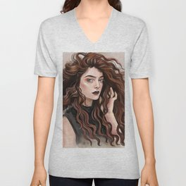 Pure Heroine vibes / Lorde Unisex V-Neck