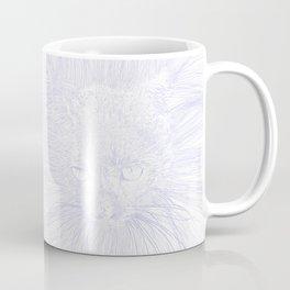 felines gray Coffee Mug