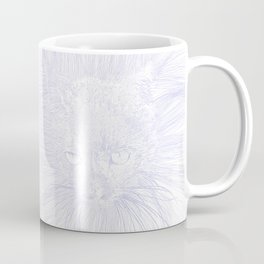 felines gray Coffee Mug