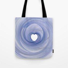 Valentine's Fractal III - Light Tote Bag